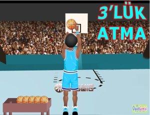 3'lük Basket Atma